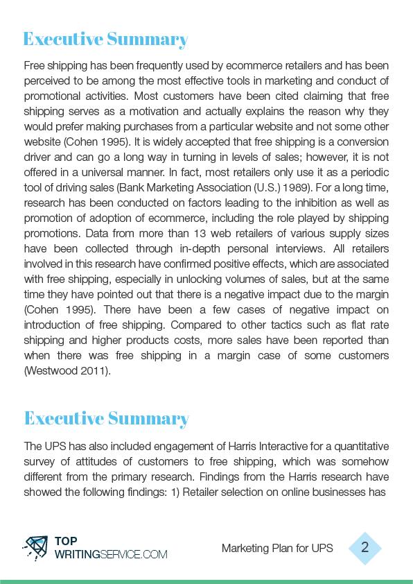 Writing a Professional Marketing Plan | TopWritingService com