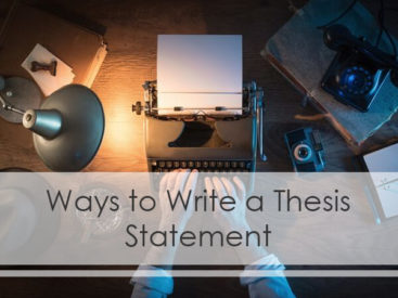 Best Thesis Statement Tips