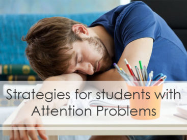 Pay Attention Strategies for Students
