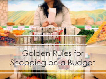 Useful tips for shopping on a budget