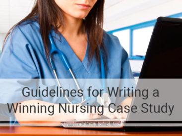 Writing a Nursing Case Study