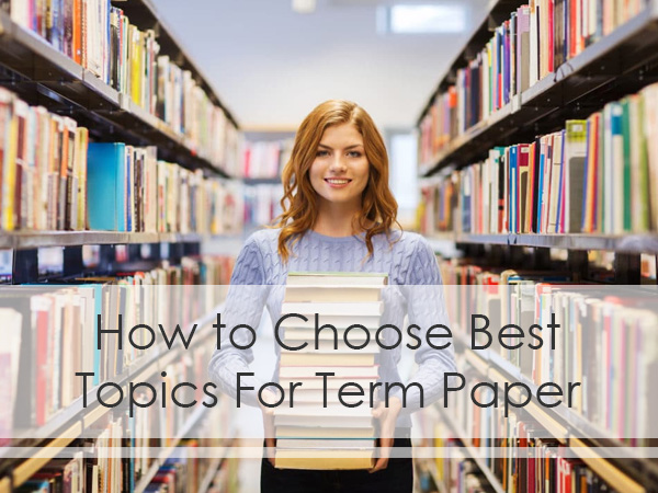 how to choose the topic for