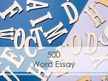 How to Write 500 Word Essay