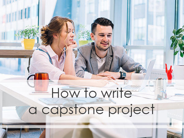 capstone project writing tips