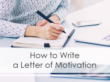 How to Write a Letter of Motivation